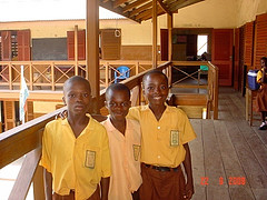 School- some of the jayNii kids in the local school
